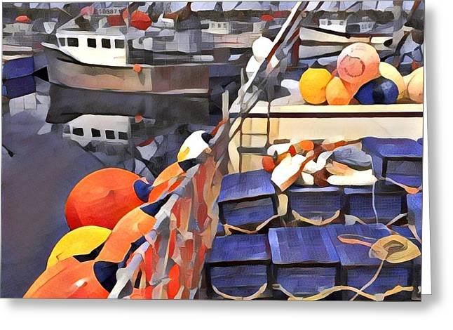 Harbour Ville Greeting Card