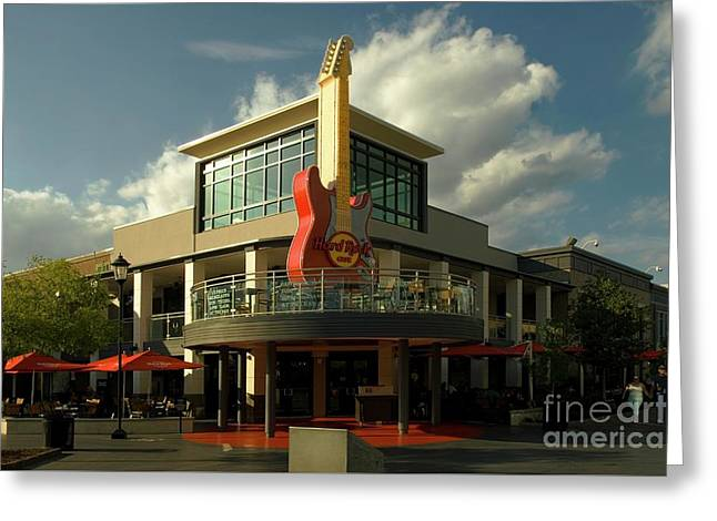 Hard Rock Cafe Myrtle Beach Sc Greeting Card
