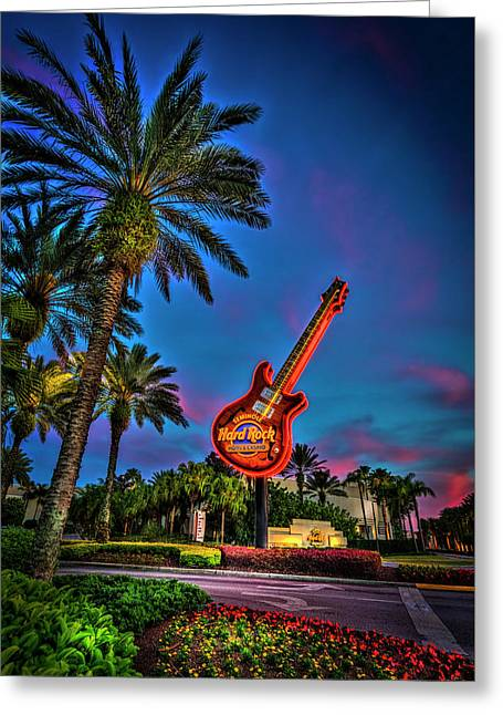 Hard Rock Greeting Card by Marvin Spates