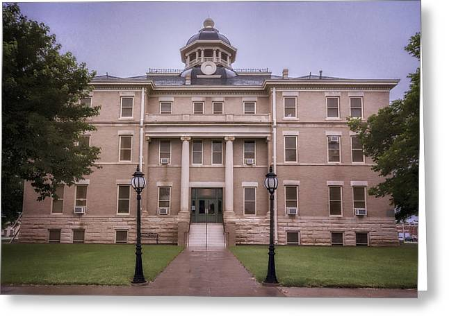 Hardeman County Courthouse Greeting Card