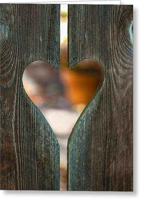 Harden Not Your Heart Greeting Card by Terry Davis