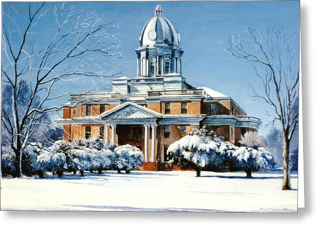Hardin County Courthouse Greeting Card