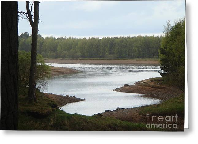 Harlaw Reservoir 1 Greeting Card