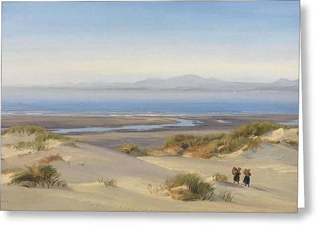 Harlech Beach Greeting Card by Henry Moore