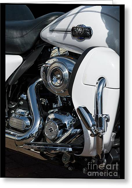 Greeting Card featuring the photograph Harley Davidson 15 by Wendy Wilton