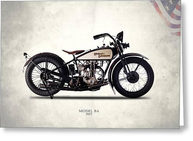 Harley-davidson Ba 1927 Greeting Card