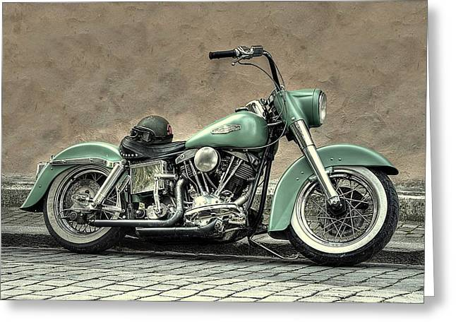 Harley Davidson Classic  Greeting Card by Movie Poster Prints