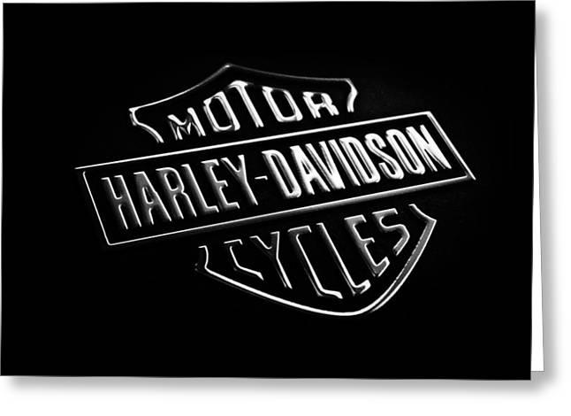 Phone Greeting Cards - Harley-Davidson Motorcycles Phone Case Greeting Card by Mark Rogan
