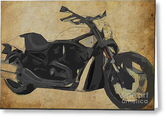 Harley Davidson Vrscdx Night Rod - 2014 Greeting Card by Pablo Franchi