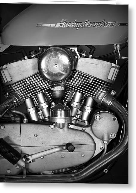 Harley Double K Greeting Card by Mark Rogan