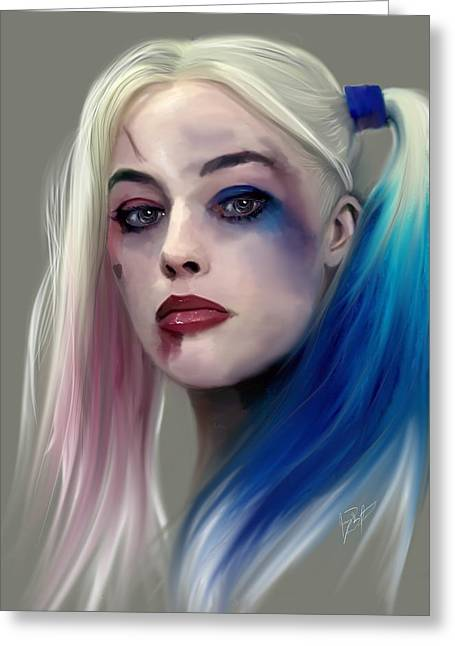 Harley Quinn Greeting Card