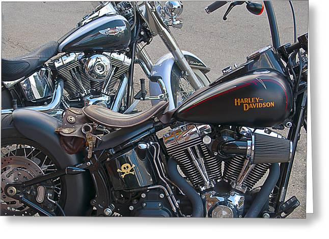 Harleys Greeting Card