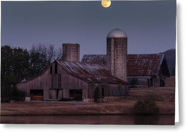 Harlinsdale Moon Greeting Card