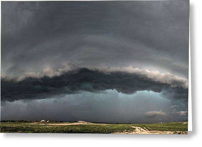Harlowton, Montana, Supercell Greeting Card