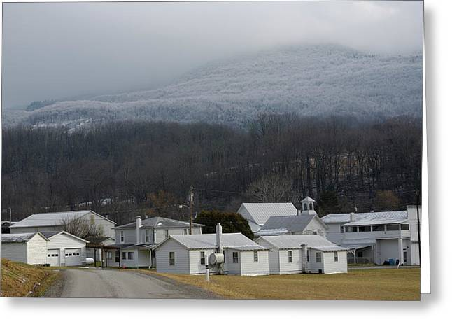 High Virginia Images Greeting Cards - Harman Greeting Card by Randy Bodkins