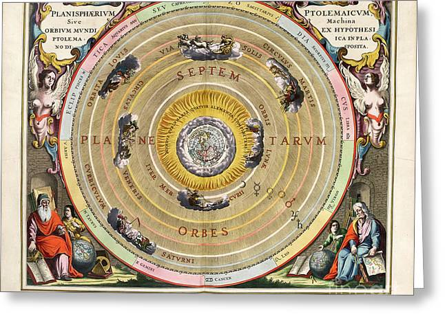Harmonia Macrocosmica Greeting Card