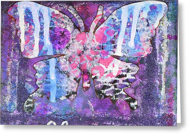 Harmony Butterfly Greeting Card
