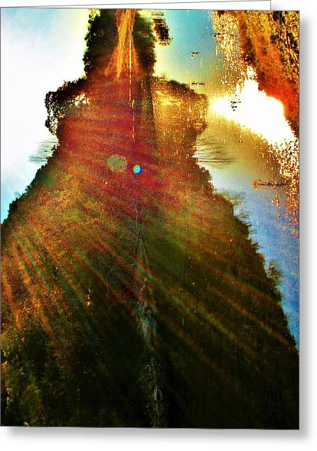 Harness The Power Of Light Greeting Card