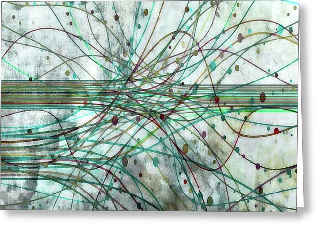 Greeting Card featuring the digital art Harnessing Energy 3 by Angelina Vick