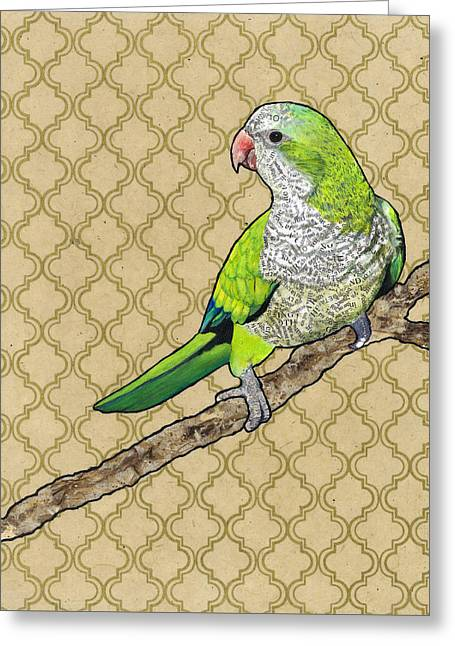 Harold Greeting Card by Jacqueline Bevan