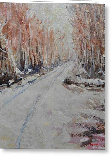 Harper's Ferry Road Greeting Card