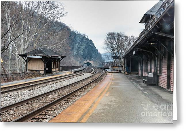 Harpers Ferry Train Station Greeting Card