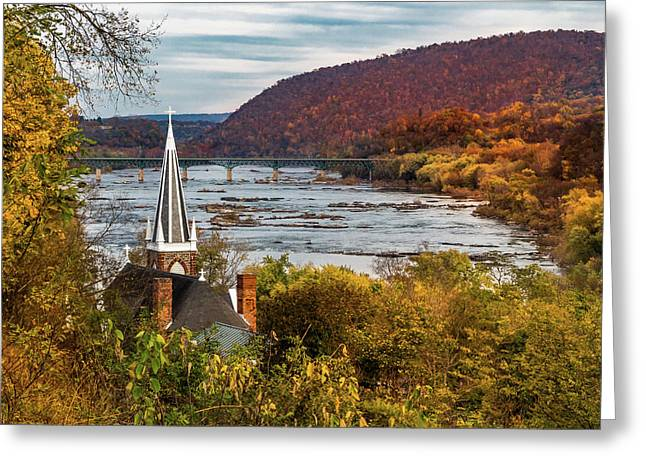 Harpers Ferry, West Virginia Greeting Card