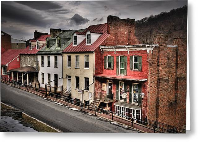 Harper's Ferry Greeting Card by Williams-Cairns Photography LLC