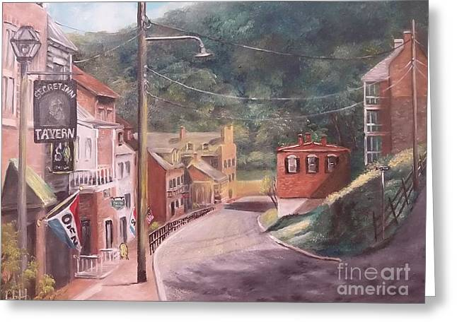Harpers Ferry West Va Greeting Card