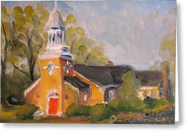 Harpeth Presbyterian Church Greeting Card by Susan E Jones