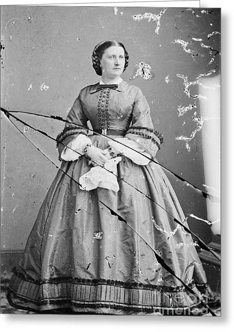 Harriet Lane, First Lady Greeting Card