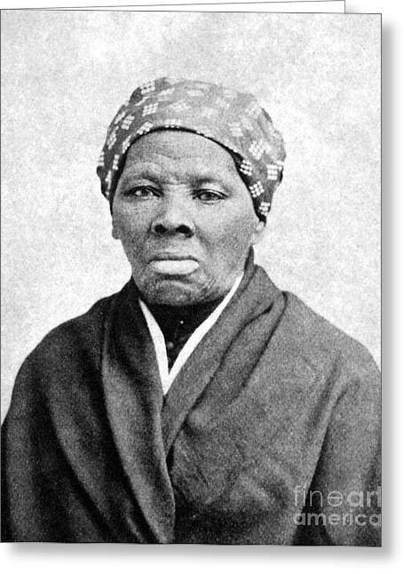 Abolition Movement Photographs Greeting Cards - Harriet Tubman (1823-1913) Greeting Card by Granger