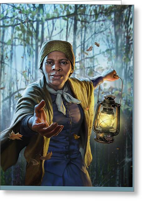 Harriet Tubman Greeting Card