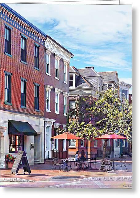 Harrisburg Pa - Coffee Shop Greeting Card