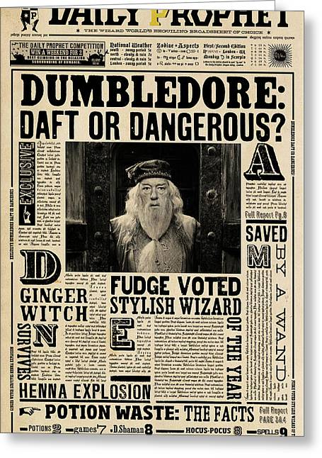 Harry Potter And The Half-blood Prince 2009 Greeting Card