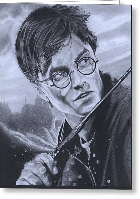 Harry Potter Year 7 Greeting Card