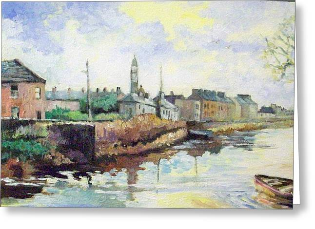 Harrys  Mall -limerick-ireland Greeting Card by Paul Weerasekera