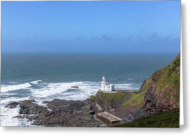 Hartland Point - England Greeting Card