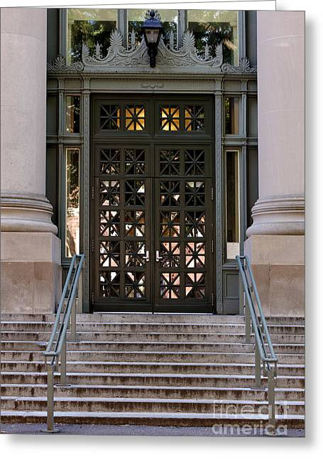 Harvard Law School Langdell Library Greeting Card by Jannis Werner