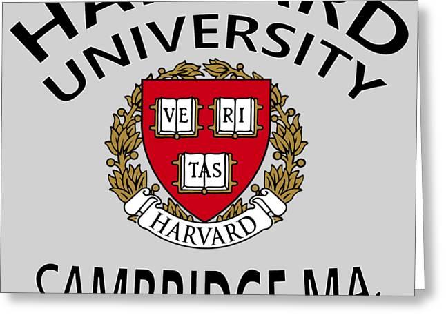 Harvard University Cambridge M A  Greeting Card
