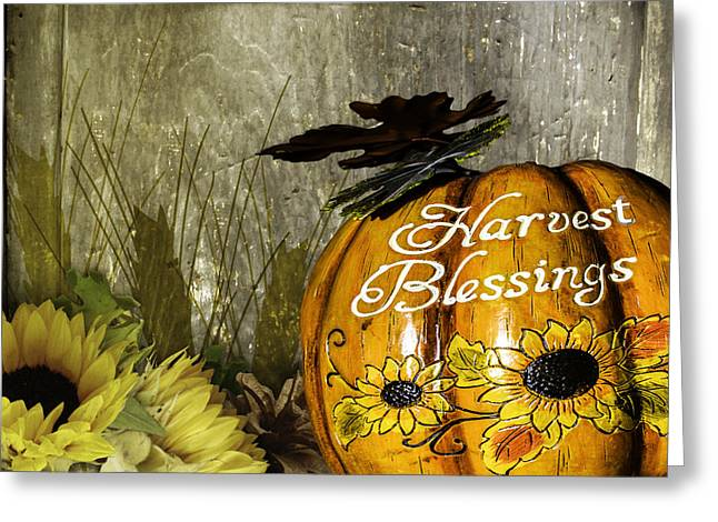 Harvest Blessings 2 Greeting Card by Leticia Latocki