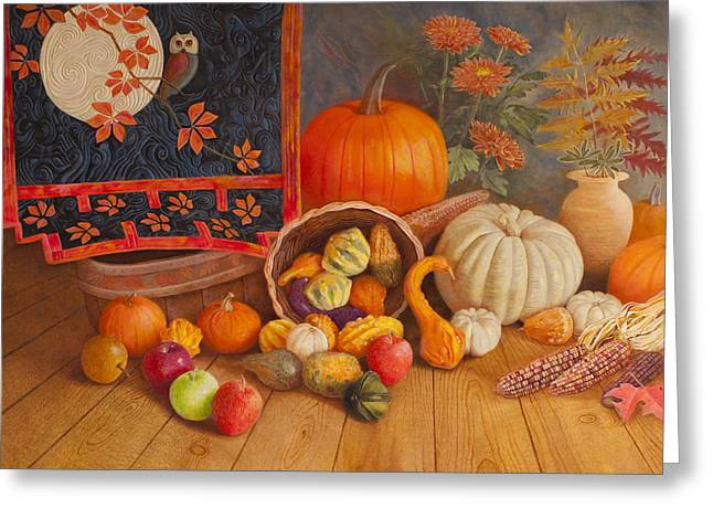 Harvest Bounty Greeting Card