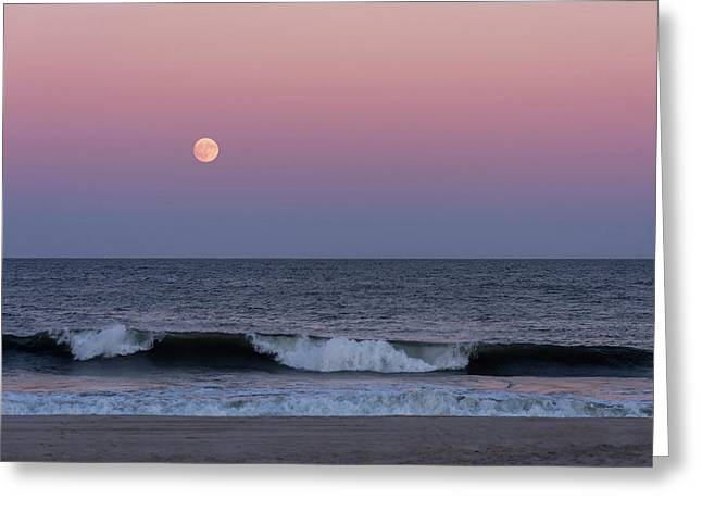 Harvest Moon Beach 2017 Seaside Park New Jersey Greeting Card