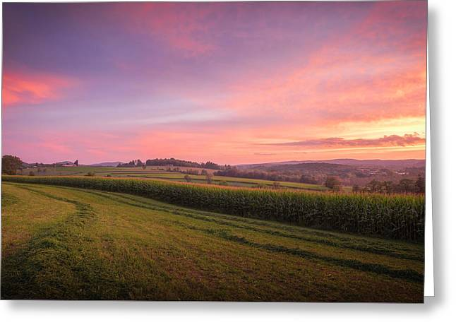 Harvest Sky Greeting Card