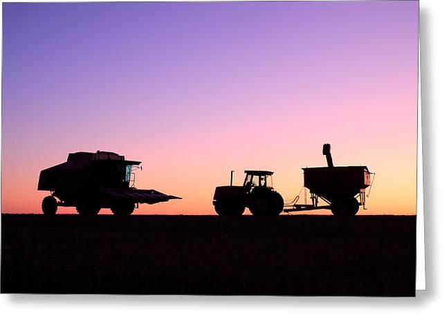 Harvest Sky Greeting Card by Todd Klassy
