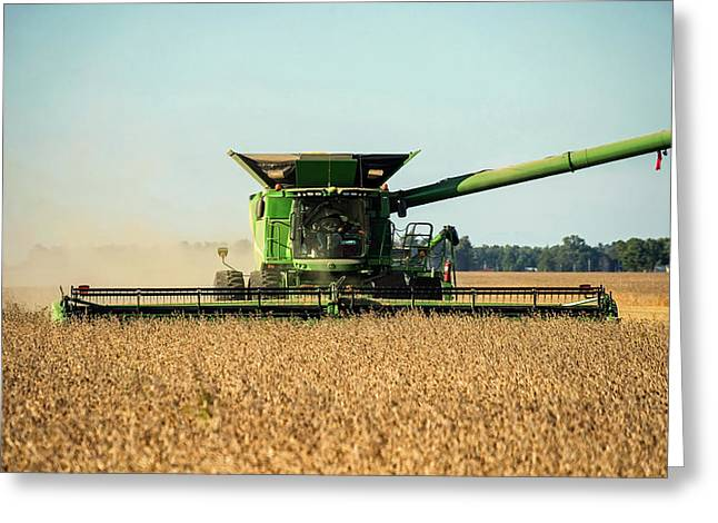 Harvest Time In Indiana Greeting Card by Mountain Dreams