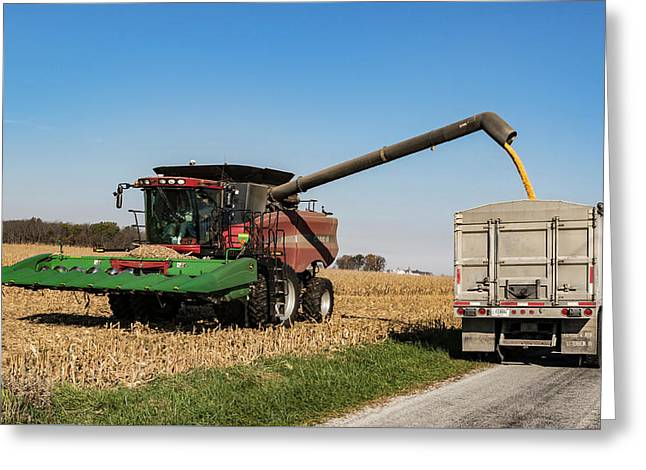 Harvest Time. Greeting Card