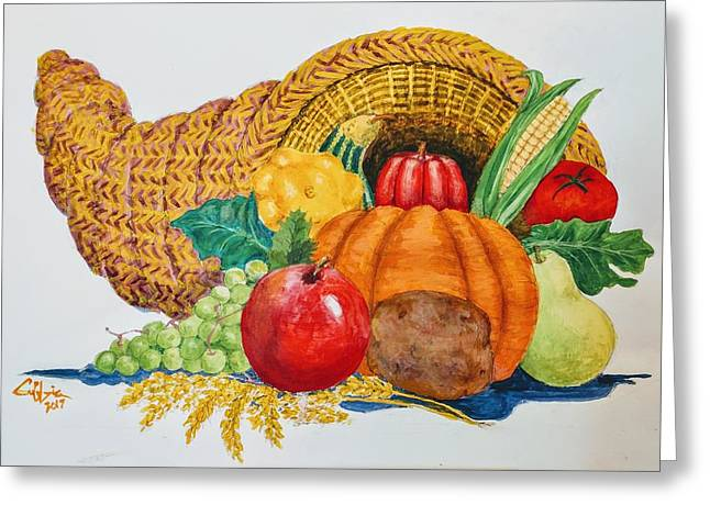 Harvest Time2  Greeting Card