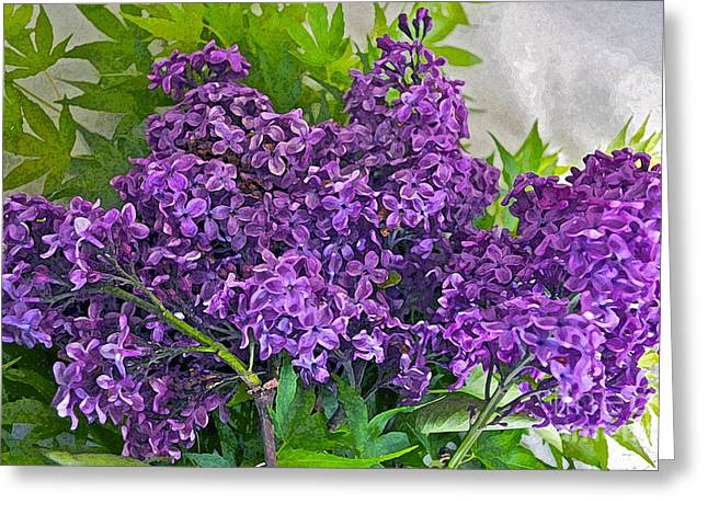 Harvesting Aroma Greeting Card by Gwyn Newcombe