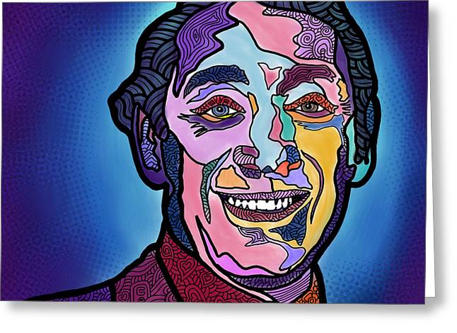 Harvey Milk I Recruit You Greeting Card by Marconi Calindas